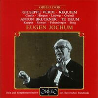 G. Verdi - Requiem/Te Deum (Jochum, Bavarian Radio) [CD]
