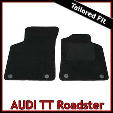 Audi TT Roadster Mk1 1999-2006 Tailored Fitted Carpet Car Floor Mats BLACK
