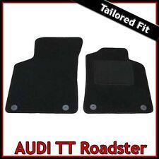 Audi TT Roadster Mk1 1999-2006 Tailored Fitted Carpet Car Floor Mats BLACK