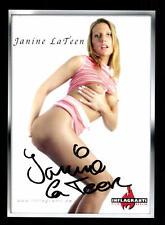 Janine La Teen Autogrammkarte Original Signiert # BC 81707