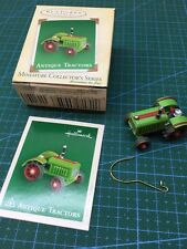 Hallmark 2004 Miniature Antique Tractors Collector Series Ornament #8