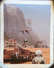 Scott Listfield - Limited Edition Art Print - Flamingo - S/N/50 - 2021