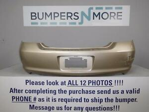 OEM 2005-2010 Toyota Avalon Limited/Touring/XLS/XL Rear Bumper Cover
