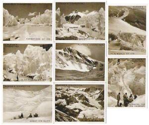 Mount Everest [complete set of Player cigarette cards]