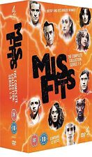 Misfits Complete Series 1-5 DVD Box Set Collection Season 1 2 3 4 5 Mis fits NEW