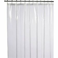 NEW PEVA Mildew Free Anti-Bacterial Shower Curtain Liner Home Fashion Designs