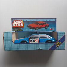 Road Star mit Sirene und SW, Highway Police - MSB DDR VEB Spielzeug