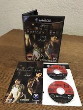 Nintendo Gamecube Resident Evil Zero 0 CIB Complete