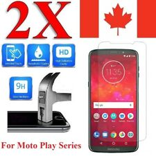 Tempered Glass Screen Protector Cover for Motorola Moto X Z Z2 Z3 Play (2 PACK)