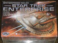 ENTERPRISE NX-01 Model Kit 1:1000 Scale MISB Star Trek Polar Lights + Bonus Holo
