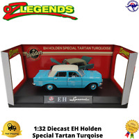 Diecast Model Car Holden EH Special Tartan Turqoise OzLegends 1:32 Boxed New