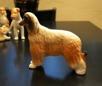 "Lomonosov Porcelain Figurine ""Afghan Hound Dog"" Large"