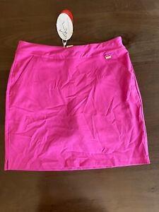 Greg Norman Ladies Skort Skirt Golf Fuchsia Size 4 BNWT New