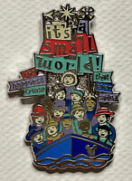 DLR Hidden Mickey 2019 Attraction Signs It's A Small World Disney Pin Boat Sail