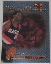 1999/00 Scottie Pippen Blazers Upper Deck High Definition Insert Card #HD20 NM
