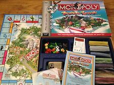 TROPICAL TYCOON MONOPOLY DVD BOARD GAME By Parker Classic Interactive