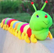 Colorful Caterpillar Plush Toy Stuffed Pillow Caterpillar Big Insect Doll 80cm