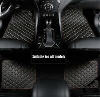 PU Leather Car Floor Mat For RHD/LHD BMW 3 5 7Series F20 E90 F30 E60 F1