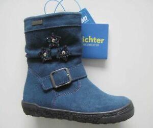RICHTER Winter Stiefel  ink/petrol Richtex Mädchen Gr.28*NEU*