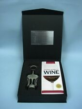 Cork Screw/Pocket Wine Guide Giftset by Wine Spectator - Personalized