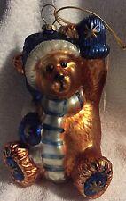 Boyd's bears Teddy bear Klaus Von Fuzzner Christmas ornament with Box.NEW