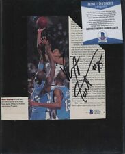 C44574 Vince Carter Signed Newspaper Clipping AUTO Autograph Beckett BAS COA