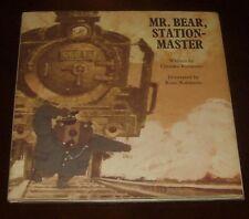 'MR. BEAR, STATION-MASTER' : Chizuko KURATOMI / illust: Kozo KAKIMOTO: 1974