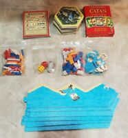 The Settlers Of CATAN GAME for parts pieces cards