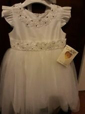 Gorgeous Couche Tot White Special Occasion Dress age 3/4 bnwt