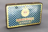 Vintage Waldorf-Astoria Blau Punkt 25 Cigarette Tobacco Tin