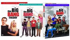 THE BIG BANG THEORY STAGIONI 1, 2, 3 (10 DVD) COFANETTI SERIE TV WARNER VIDEO