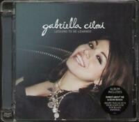 GABRIELLA CILMI Lessons To Be Learned CD 13 Track Album