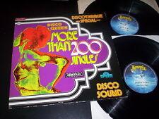 "Unknown Artist ""Disco Queen - More Than 200 Jingles"" 2LP Monopole MLP 0399/863"