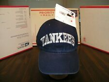 NEW YORK YANKEES STARTER VERY RARE VTG 90's STRAPBACK LOW PROFILE CAP HAT NWT