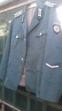 East Geman DDR VoPo SCHUTZPOLIZEI police officers jacket SG56. Large NVA police.