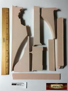 M00132-045 MOREZMORE 1 lb Scrap Precision Board Plus HDU Sign Foam Model Making