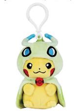 AUTHENTIC Pokemon Center Singapore Pikachu with Celebi Poncho EXCLUSIVE KEYCHAIN