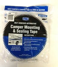 Truck Canopy Camper Shell Self Stick Mounting Weatherstrip Sealing Tape 30 Ft.