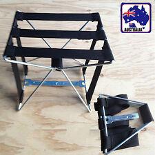 Foldable Portable Chair Carry Away Travel Fishing Seat Chairs Black OCHAI0105