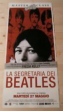FREDA SEGRETARIA BEATLES  Locandina Cinema 33x70 Poster Film Originale