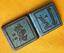 ANCIENNE BOITE PAPIER A CIGARETTES ZED OLD FRENCH CIGARETTE PAPER TIN BOX 1950s