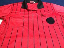 Soccer Referee AM Polyester Red High 5 Officials Short Sleeve Shirt