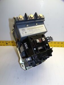 ALLEN BRADLEY SIZE 3 CONTACTOR 600 VAC 90 AMP 50 HP 120V COIL  500-DOD930