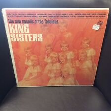 King Sisters The New Sounds of the Fabulous LP Warner Brothers EX