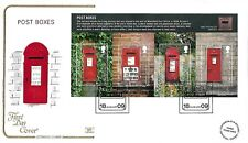 GB 2009 POST BOXES COTSWOLD OFFICIAL FIRST DAY COVER