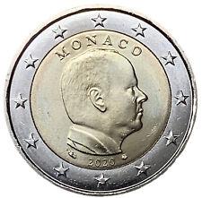 2 EURO MONACO 2020 - PRINCIPE ALBERTO II - UNIFICATO 8.20 - FDC UNC -