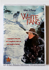 Disney White Fang Ethan Hawke Pet Wolf Epic Gold Mining Survival Story on DVD