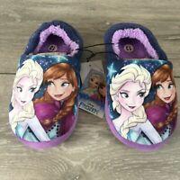 Die Eiskönigin Elsa /& Anna Fleece Weste lila Disney/'s Frozen 2