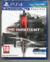 The Inpatient VR   {PS VR REQUIRED} 'New & Sealed'  *PS4(Four)*