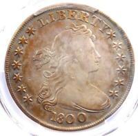 1800 Draped Bust Silver Dollar $1 AMERICAI BB-192 - PCGS VF Details - Rare Coin!